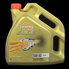 Castrol EDGE Titanium FST 0W-40 A3/B4 4L - BMW, MB, VW, Ford, Porsche