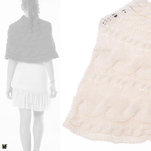 Mantella poncho poncio donna coprispalle cappa copriabito collo scialle 00795