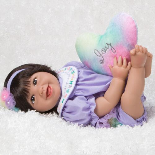 Paradise Galleries Mexican Baby Doll Hispanic Reborn Rainbow Blessings Joy