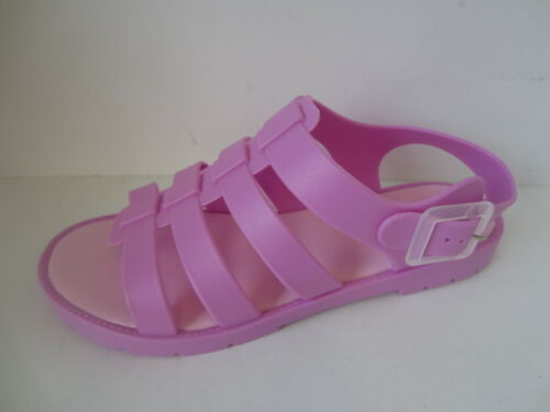 Ladies Pink//Coral//Black//White Spot On Sandals UK Sizes 3-8 F0837