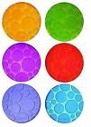 Munchkin - 6 Coloured GRIPPY Dots Safety Baby Bath Pads Water Fun Age 36 Mths
