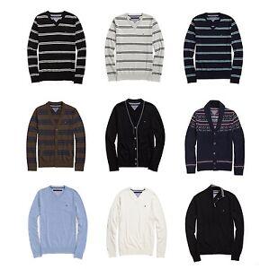 New-Tommy-Hilfiger-Mens-Cardigan-Sweater-NWT