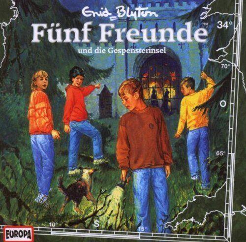 CD * FÜNF FREUNDE - HÖRSPIEL / CD 34 - UND DIE GESPENSTERINSEL # NEU OVP =
