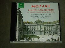 Mozart Piano Concertos Nos. 2 & 25 (CD, Erato (USA)) Jean-Bernard Pommier