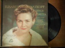 33 RPM Vinyl Elisabeth Schwarzkopf Sings Operetta  Angel Records ANG356 021915SM