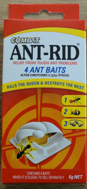 Ant Rid Insect Insecticide Pest Control Indoor Bait Stations 4pk Fipronil