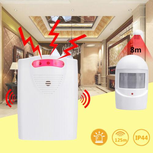 Wireless Driveway Alarm Alert System Home Security Garage Shed PIR Motion Sensor