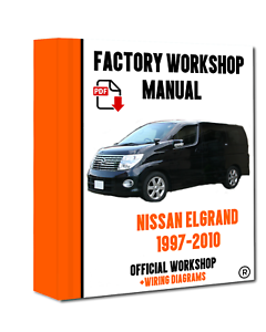 Astounding Official Workshop Manual Service Repair For Nissan Elgrand 1997 Wiring Cloud Oideiuggs Outletorg