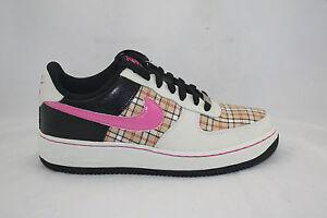 Nike Air force 1 Sail Pink Fire II-Black 314219-164 size 6.5