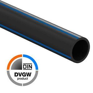 Extrem PE Rohr 25m 32mm Trinkwasser PN12,5 DVGW Wasserleitung Kunststoff SV13