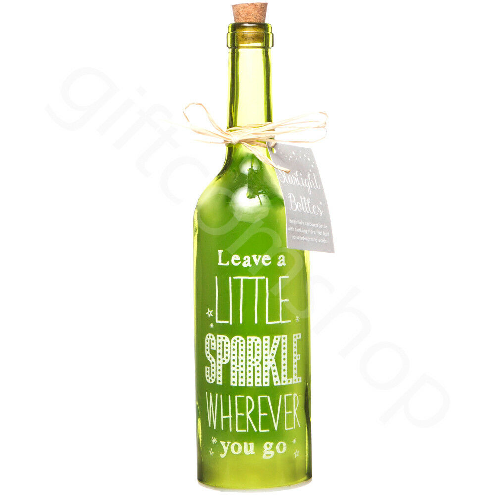 Leave a Little Sparkle - Starlight LED Bottle