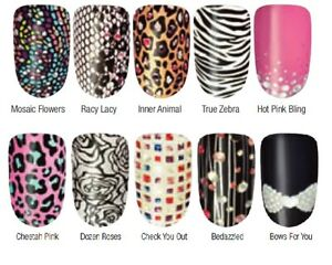 Avon Nail Art Design Strips Nail Wraps Stickers New In Packets