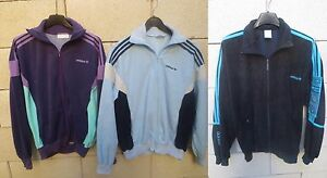 Lot-3-Veste-ADIDAS-vintage-CHALLENGER-MAGIC-MOMENT-SPORT-jacket-tracktop-168-S