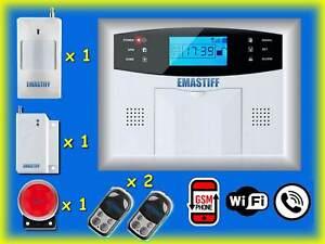 ANTIFURTO-PROFESSIONALE-WIRELESS-PSTN-ALLARME-GSM-SMS-INTERFONO-IOS-ANDROID-APP