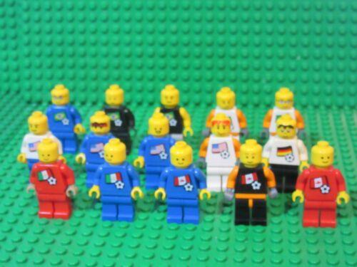 Us Lego Minifigures Torso Sports Mexico Sticker Lot 15