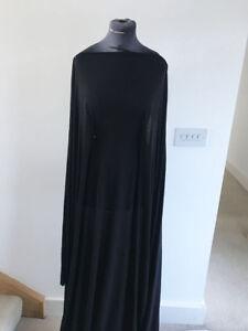 Good Quality Black Viscose/Elasta<wbr/>ne Stretch Jersey Dressmaking Fabric