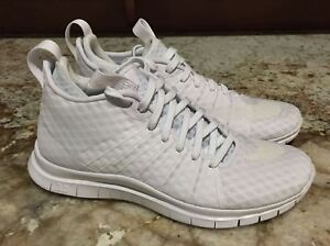 reputable site 67ece b8698 Details about NIKE FC Free Hypervenom 2 White Reflective Training Running  Shoes Mens Youth 6