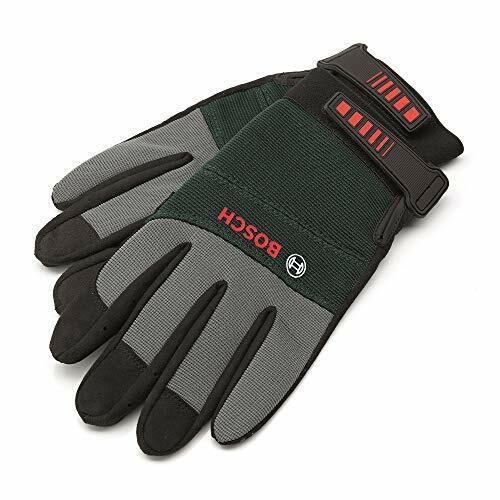 ERBA Polyester Feinstrick Handschuhe Nitril Gr 9 L