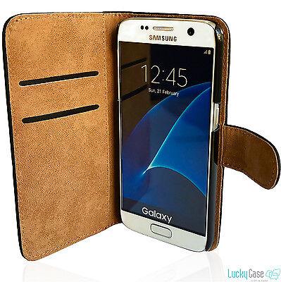 Book Case für Samsung Schutzhülle Cover Etui Handyhülle Wallet Case Hülle Tasche