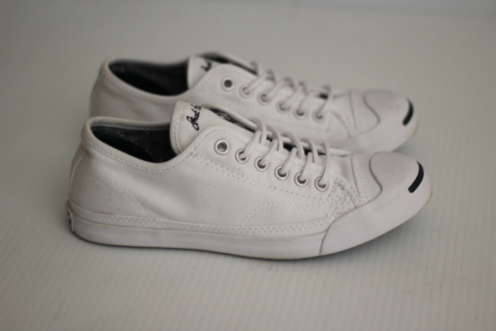 NEW Damenschuhe Converse Jack Purcell Sneakers Lace Up - Niedrig Top - Weiß - Up Größe 5.5US af267d