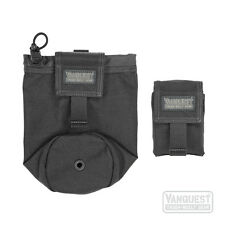 Vanquest Small ISOPod 2.0 Gen 2 Rolly Poly Dump Pouch Black