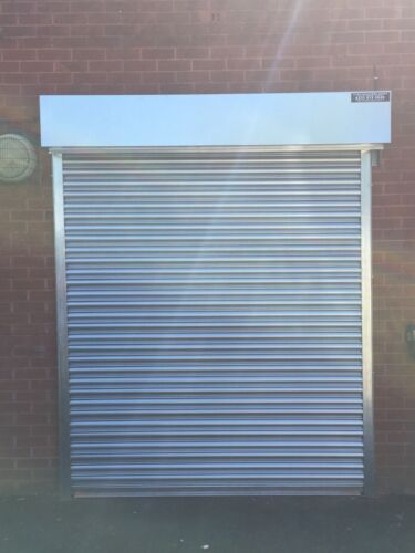 RENTALS SHOPFRONT SECURITY GALVANISED STEEL ROLLER SHUTTER GARAGE DOORS