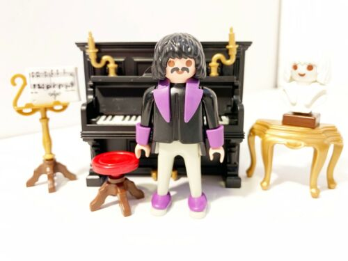 Playmobil Victorian Mansion Piano Beethoven Bust Figure New No music