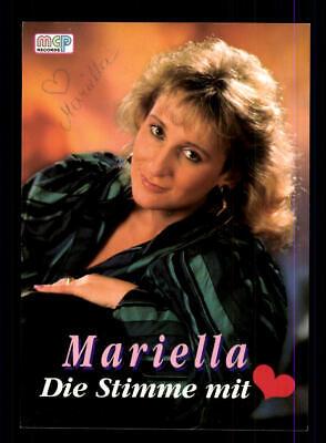 Mariella Autogrammkarte Original Signiert ## Bc 147019 SorgfäLtige FäRbeprozesse Sammeln & Seltenes
