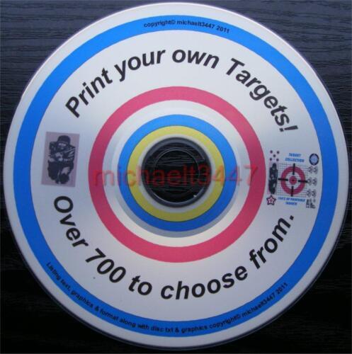 Shooting Targets, tir à l'arc Cibles. Imprimez vos propres Objectifs. 700+