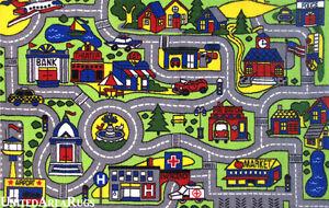 Kids Street Rug Roselawnlutheran - Kids road map