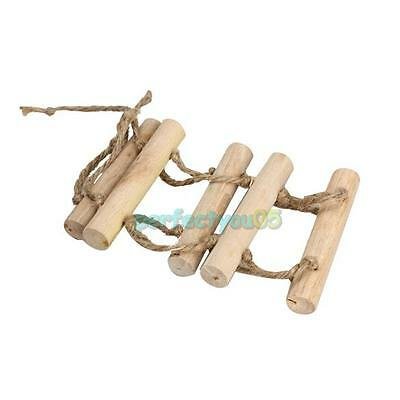 Parrot Rat Toy Good Bridge Ladder Hamster Bird Cage With Natural Wood For Bird