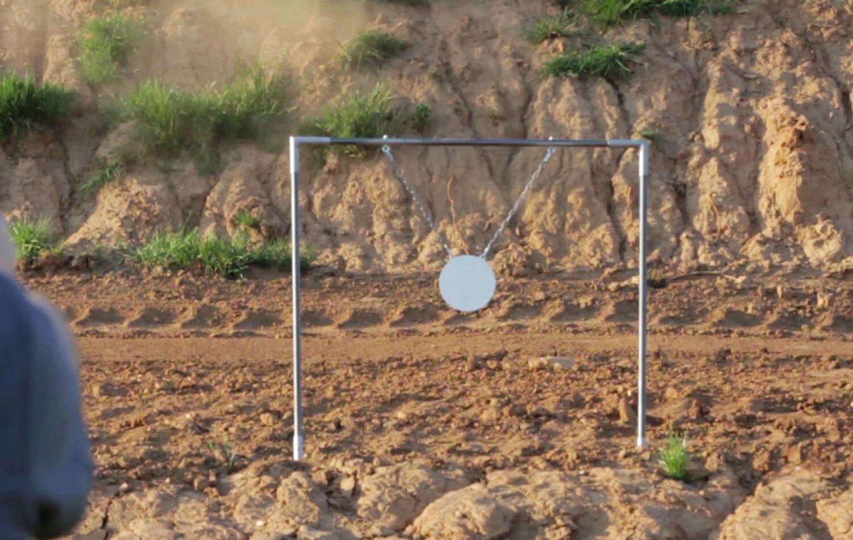 PGR Gong Swing Target Target Target 12  blancooo-Acero AR500 (9-104220) 0e47da
