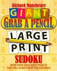 Large Print Sudoku 9780884865582 by Richard Manchester Paperback