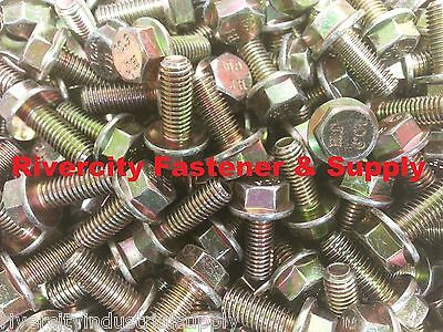 1 M8-1.25 x 20 M8x20 Hex Flange Bolts DIN 6921 8mm x 20mm Stainless Steel