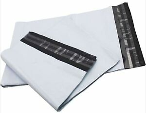 Premium-Strong-WHITE-Plastic-Mailing-Postal-Poly-Pack-Postage-Bags-UK-ALL-SIZES