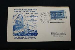 Naval-Cubierta-1950-Barco-Cancelado-150TH-Anniv-Boston-Naval-Astillero-2605