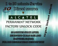 Liberar unlock ALCATEL por codigo IMEI
