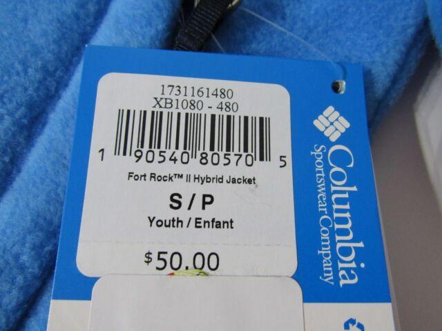 Blue Columbia Fort Rock Hybrid Jacket XL