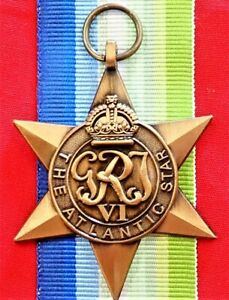 WW2-THE-ATLANTIC-STAR-MEDAL-RIBBON-REPLICA-MEDAL-MOUNTING-ANZAC