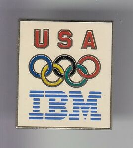 RARE-PINS-PIN-039-S-OLYMPIQUE-OLYMPIC-ALBERTVILLE-1992-IBM-TEAM-USA-EMAIL-OR-17