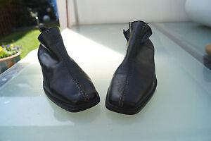 Rieker-Damen-Winter-Schuhe-Stiefel-Boots-Stiefelette-gefuettert-Gr-38-schwarz-2k