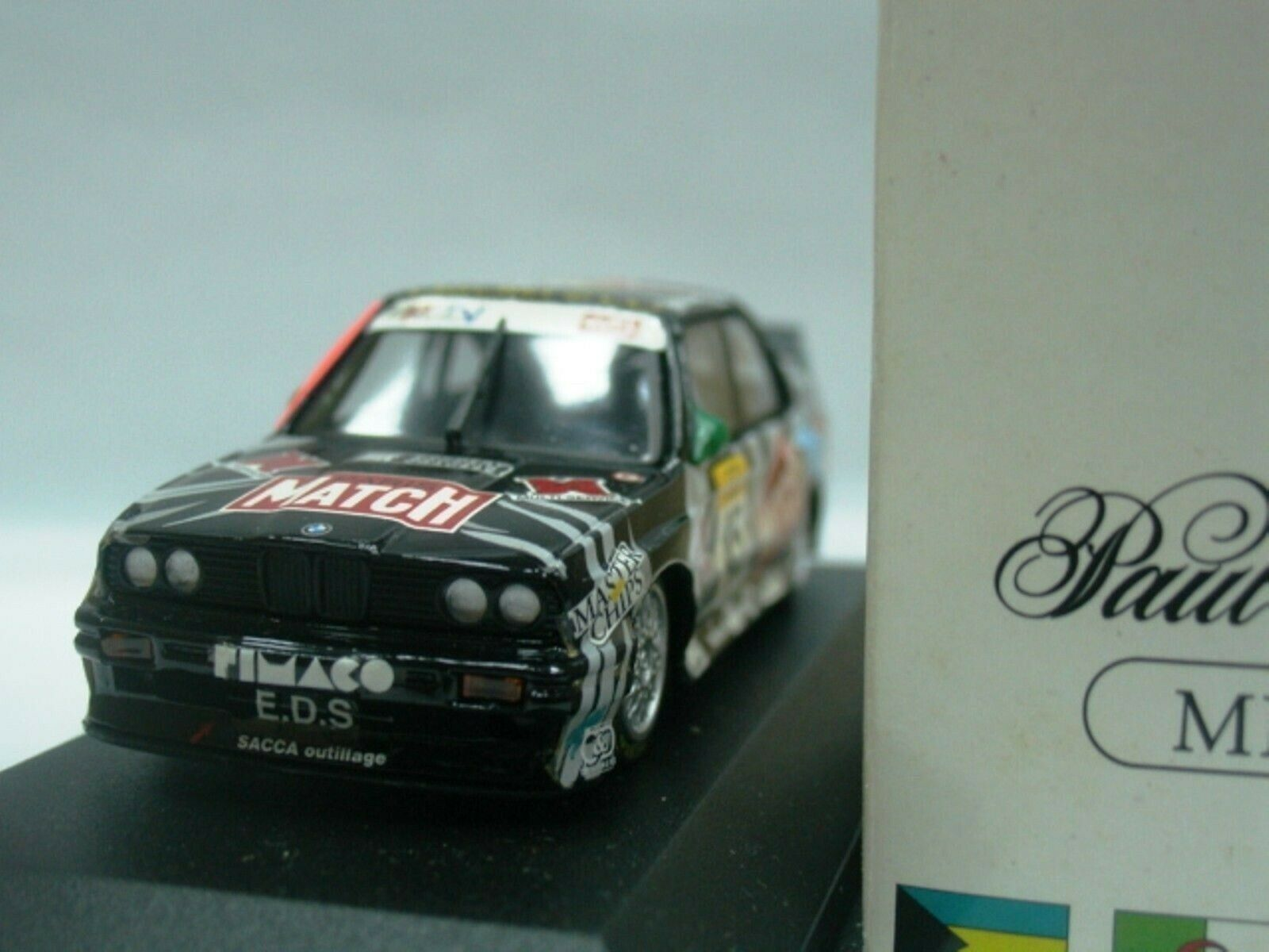 Wow extrêmement rare BMW M3 E30 se SPA 1994  45 MENAGE Winner 1 43 Minichamps-DTM