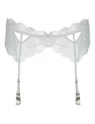 BNWT Myla Isabella Suspender Belt in Medium//Large RRP £80.00 Ivory//Nude