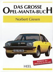 Offen Giesen geschichte/technik/typen-handbuch/bildband Das Grosse Opel-manta-buch Ausreichende Versorgung