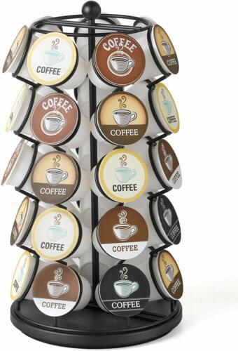 Home Keurig Coffee Pod Serve Cups Rack 35k Holder Carousel Storage Kitchen