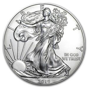 2019-1-oz-American-Silver-Eagle-GEM-BU-1-Coin-1-Troy-Ounce-999-Fine-Silver