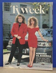 Chicago-Tribune-TV-Week-October-7-1990-Jackie-Collins-Nicolette-Sheridan-Cover