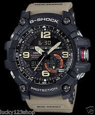 GG-1000-1A5 Brown Men's Compass Casio G-Shock Analog Digital MASTER G MUDMASTER