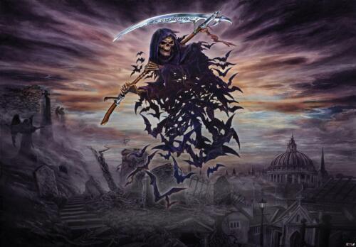 Alchemy Fototapete XXL Wandbilder Tapete 236496FW A Tithe to Hell Sensenmann Tod
