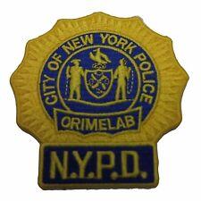 Crime Scene Investigation CSI Crimelab Embroidered Patch